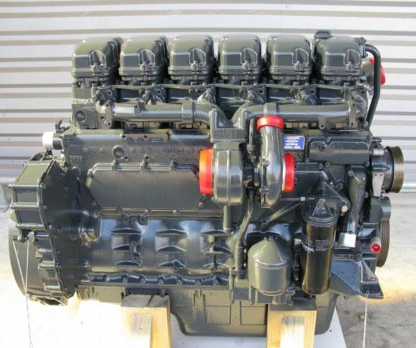 MOTOR ENGINE DAF X F105 EURO 4 5