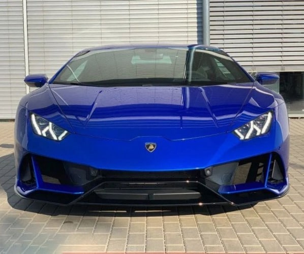 Lamborghini Huracan EVO Coupe Blu Nethuns